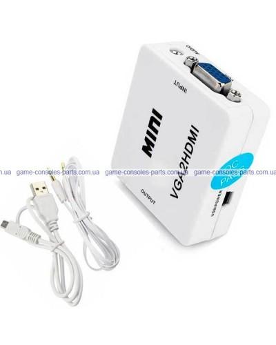 Переходник VGA в HDMI + аудио выход (Original)