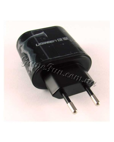 Зарядка для телефонов USB 2 разъема (Ugreen) IPhone/Samsung/LG/ipad