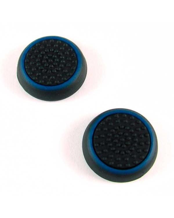 PS4/Xbox One cиликоновые накладки на ручки аналогов (Black-Blue)