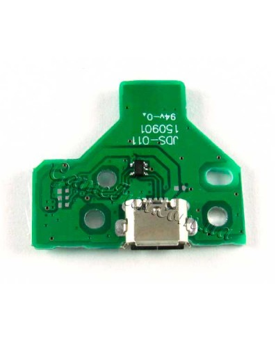 PS4 разъем micro USB (порт) плата 12Pin (модель: JDS-011) беспроводного джойстика (DualShock 4)