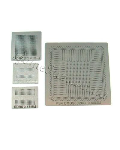 Набор трафаретов для реболлинга PS4 CXD90026G / CXD90025G / DDR3 DDR5