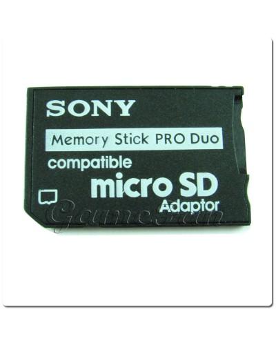 Переходник MicroSD-Memory Stick Pro Duo adapter