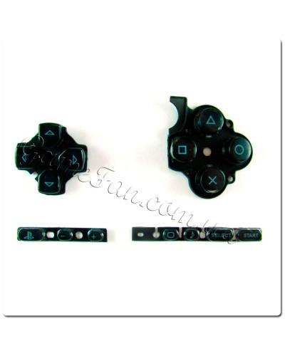 Набор кнопок Sony PSP Slim 3000 (Black)