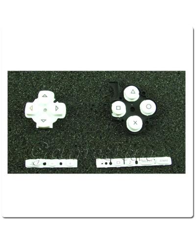 Набор кнопок Sony PSP Slim 3000 (White)
