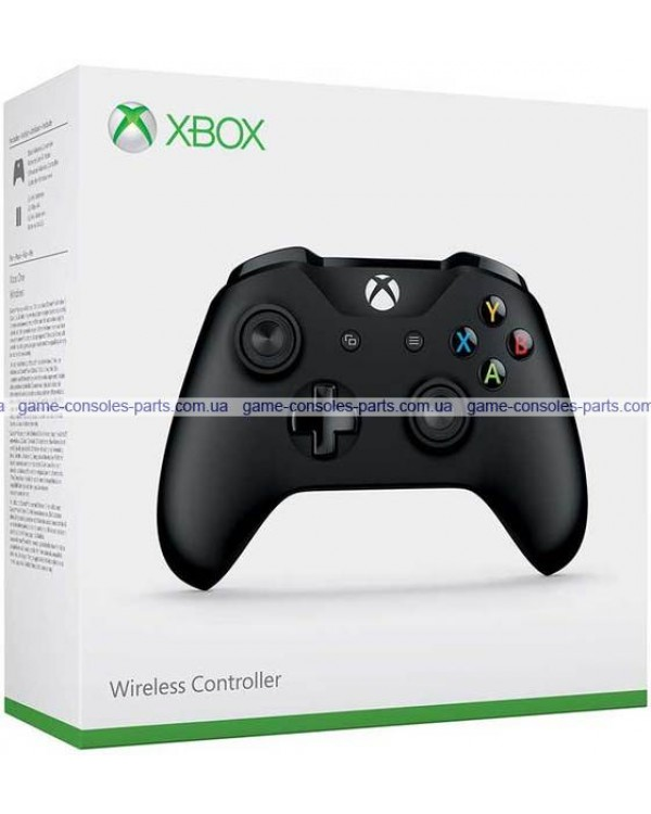 Джойстик Xbox one беспроводной - Bluetooth (оригинал) (Черный)