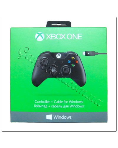 Беспроводной джойстик Xbox One Wireless Controller + Кабель  для ПК (Original)