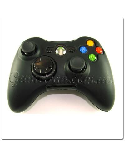 Силиконовый чехол для джойстика Xbox 360 (Black)