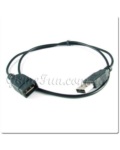 USB удлинитель A-папа/А-мама 60см