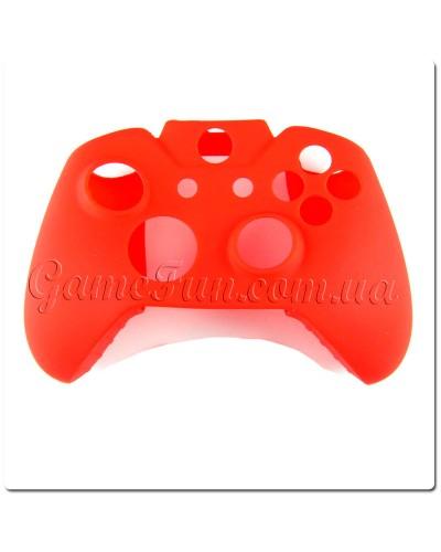 Силиконовый чехол для джойстика Xbox ONE (Red)