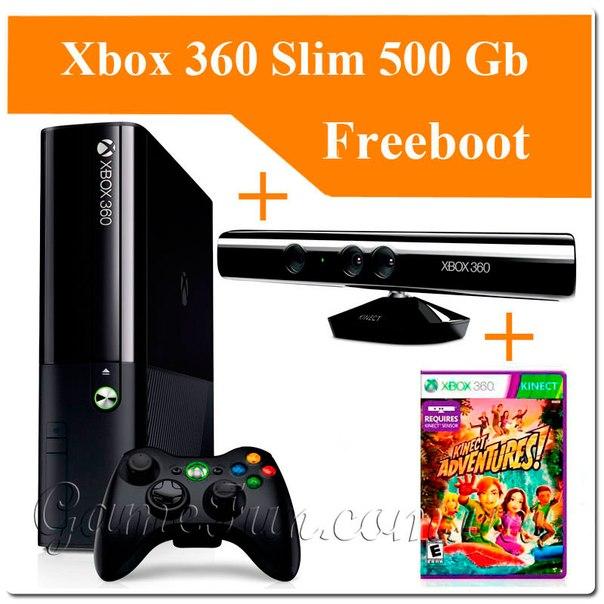 Установка freeboot на xbox 360 slim своими